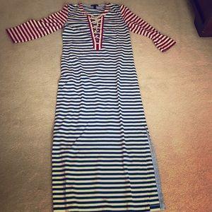 J Crew long dress